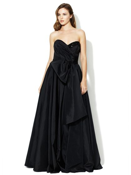 Jeweled Strapless Sweetheart Full Gown by Notte By Marchesa on Gilt.com