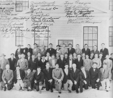 Mining class 1929-1930