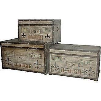 LOVE these Fleur De Lis storage boxes!!!