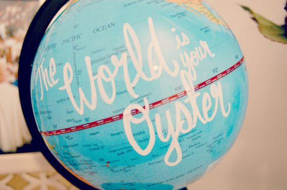 Spin this globe and land on your next destination. | 21 Things Every Travel Addict Needs In Their Apartment Immediately