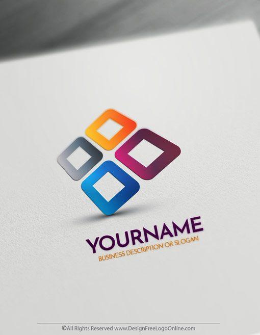 Free 3d Logo Maker Online 3d Company Logo Design In 2020 Logo Design Free Logo Design Free Templates Logo Design Template