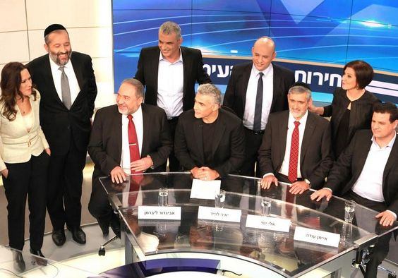 Netanyahu and Herzog's absence made them the biggest losers of all, leaving the stage open for smaller parties.