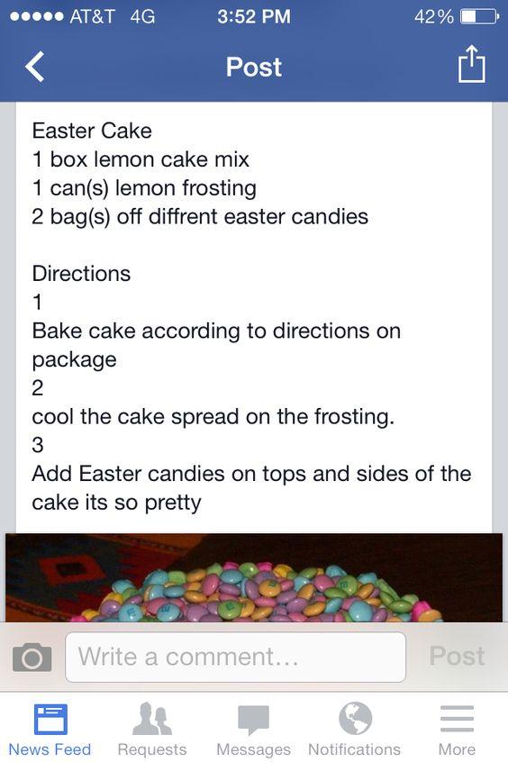 Amazing Easter cake looks so good!!!