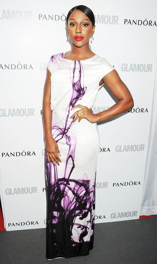 Singer Alexandra Burke arrives at the Glamour Women of the Year Awards.