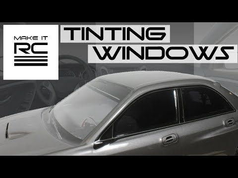 Using Full Scale Automotive Tint Film On Rc Body Automotive