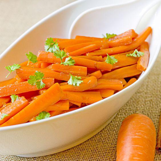 The Midnight Baker: Candied Carrot Stix