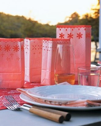 Punched Luminaries How-To