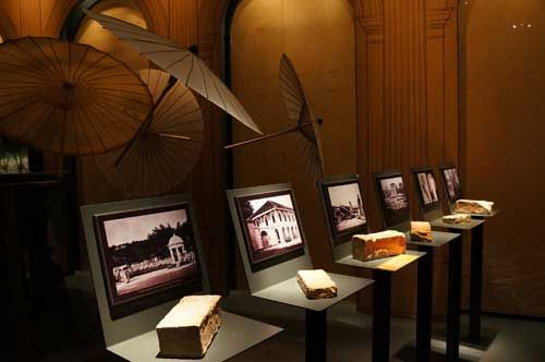 Những hiện vật được trưng bày ở bảo tàng