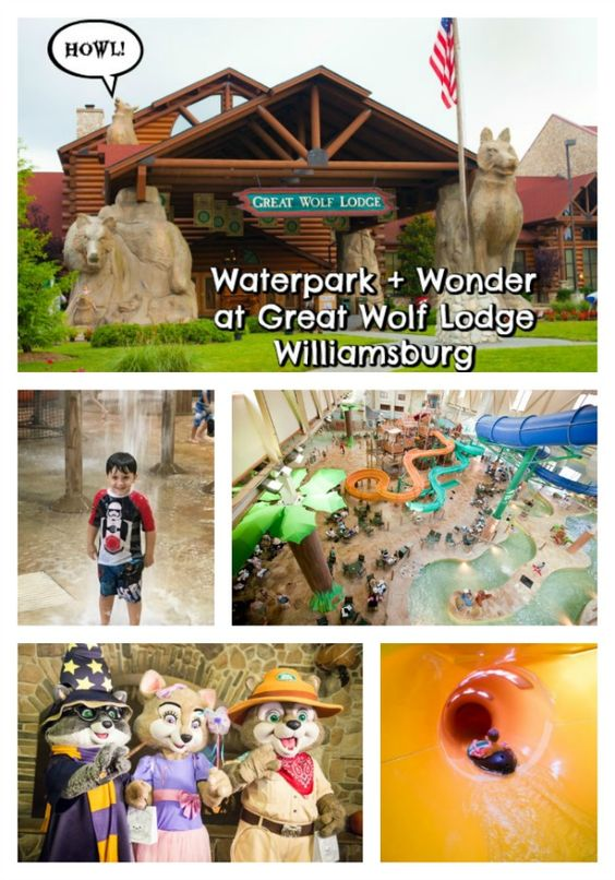 @GreatWolfLodge in Williamsburg has an 80,000 foot waterpark and so many magical experiences!