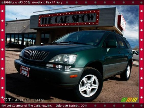lexus rx 300 woodland pearl - Google Search