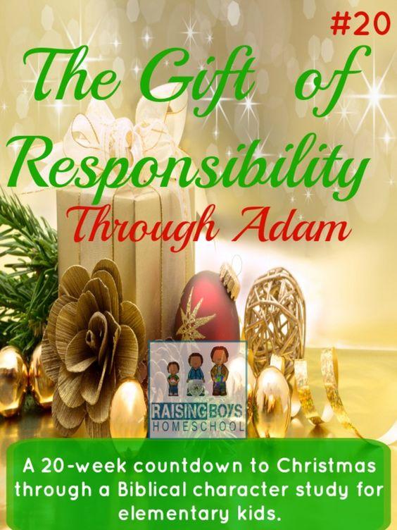 Responsible Adam http://www.raisingboyshomeschool.com/gift-care/