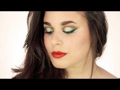 Trucco occhi verde acqua intenso per le sere d'estate - VideoTrucco