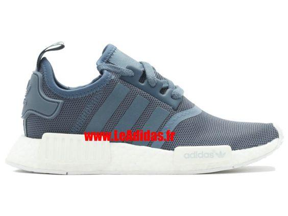 """Adidas NMD R1 w """"nmd"""" - Originals Adidas Pas Cher Pour Homme/Femme Bleu/Blanc…"""