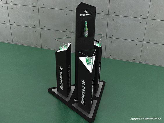 Expositor Heineken   INNOVACION PLV