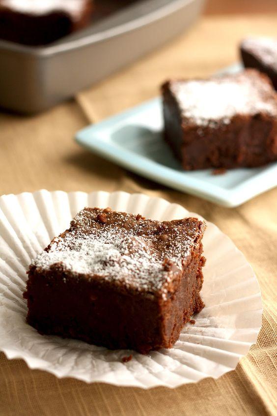 Mission Street Food's Sour Cream Brownie Bricks