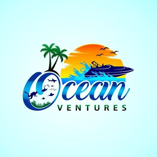 Oceanventures Design An Exciting Logo For This Island Paradise
