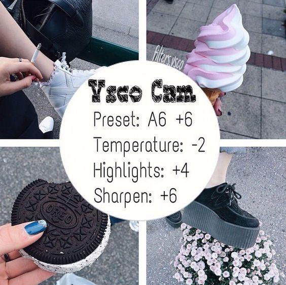 Como deixar o feed do Instagram bonito: VSCO CAM filtros - De Batom Vermelho: