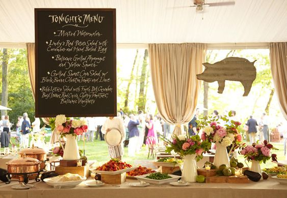 A Chic Barbecue Rehearsal Dinner | TheKnot.com