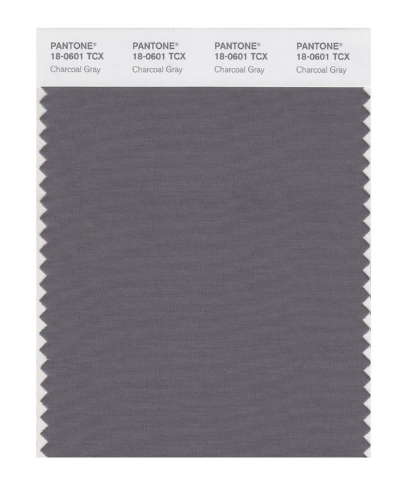 Pantone smart swatch 18 0601 charcoal gray if you are for Deep grey color