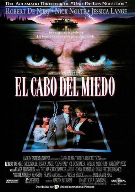 El Cabo Del Miedo 1991 De Martin Scorsese Max Cady De Niro Un Delincuente Que Acaba De Ser Puest El Cabo Del Miedo Peliculas De Miedo Peliculas De Terror