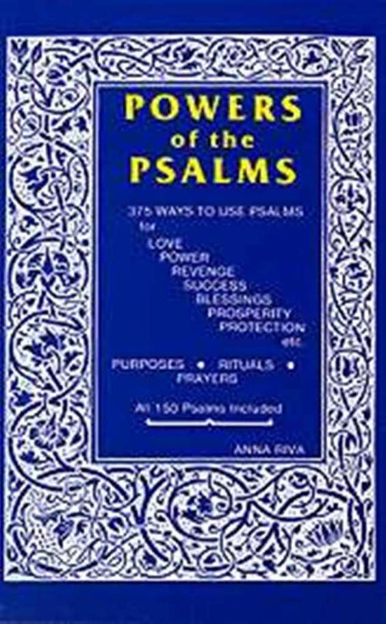 Power Of The Psalms Book By Anna Riva Rituals Prayers Purposes For Cat Sanctuary Ebay Magick Book Psalms Book Of Psalms