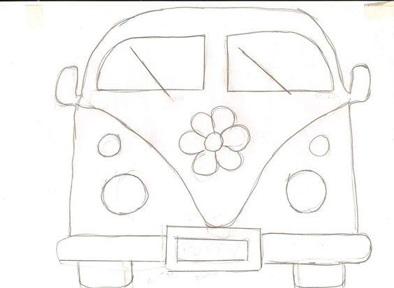 VW Camper Van pattern:
