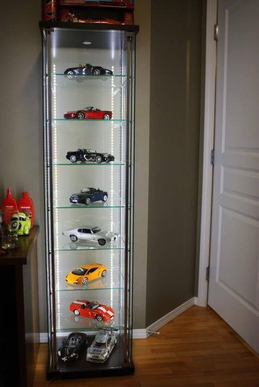 amazing adding shelves to ikeaus detolf case dx model display diecast cars forums detolf. Black Bedroom Furniture Sets. Home Design Ideas