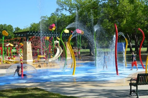 Dallas splash-parks