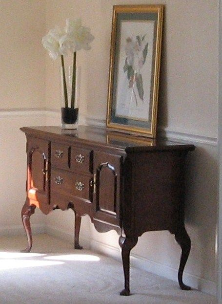Thomasville cherry buffet for the home pinterest for Floor mirror italian baroque rococo style in lacquer finish