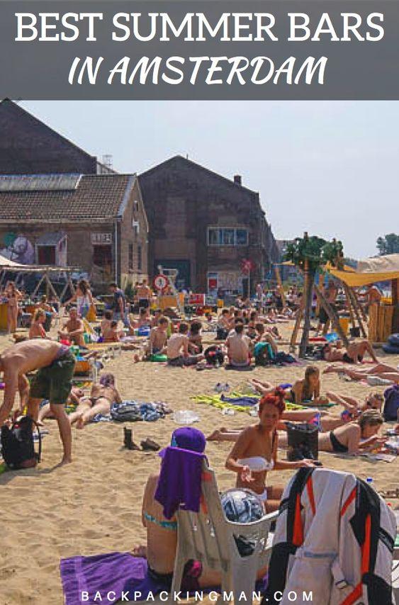 The Best Summer Bar in Amsterdam - Backpackingman