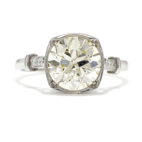 Single Stone Colette Diamond Engagement Ring
