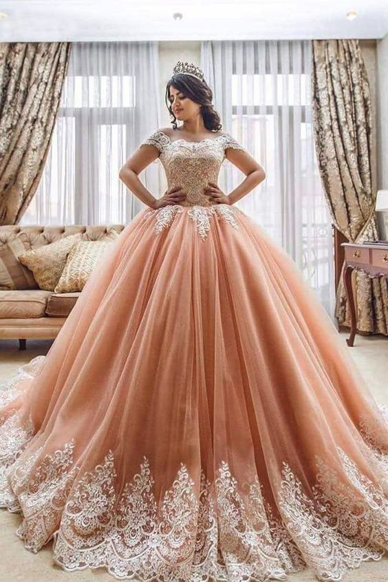 Off the Shoulder Ball Gowns evening dresses,Prom Dresses Lace Appliques Tulle Pink Quinceanera Dresses on sale  #eveningdresses #eveninggowns #formaleveningdresses #promdresses #ballgowns #graduationparty #promdresseslong #promdresseslace #prom #promgown #quinceanera #promdress2019 #prom2k19