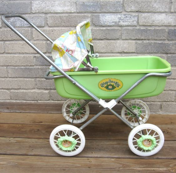 Original 1983 Cabbage Patch Doll Stroller Buggy by sweetie2sweetie, $39.99