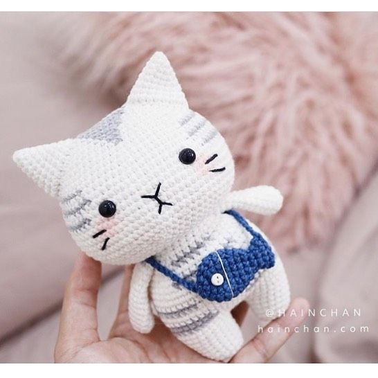 Free crochet cat pattern | Crochet cat pattern, Crochet cat ... | 546x546