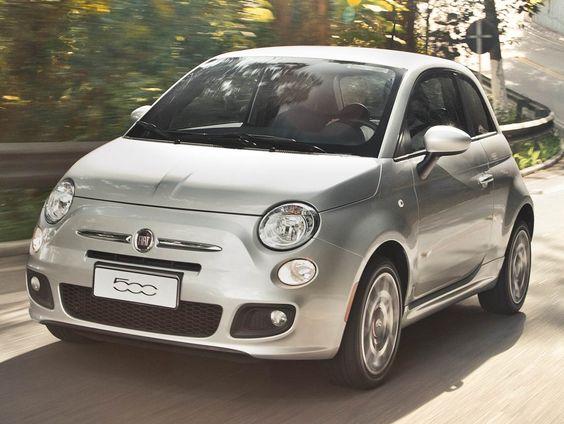 carro novo: Fiat 500 2014