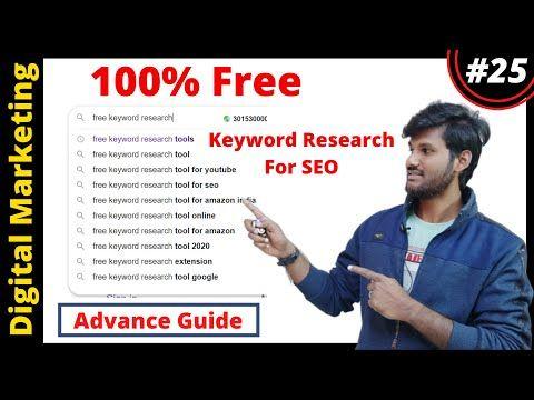 Best Free Keyword Research Tools For Seo 2020 Ubersuggest Alternative Youtube In 2020 Seo Tutorial Keyword Planner Lead Generation Marketing