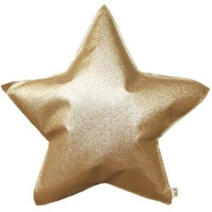 Numero 74 - Small Star Cushion - glitter