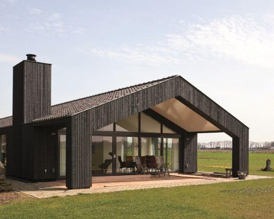 Nieuwbouw 2 onder 1 kap schuurwoning heetendijkhof bouw for Red barn prefab