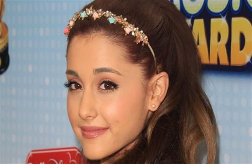 Beautiful Closeup Face of Ariana Grande American Singer Celebrity Images