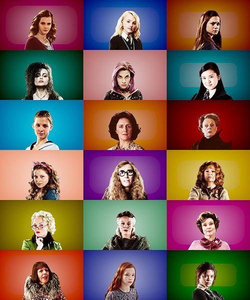 The Women Of Harry Potter Harry Potter World Hermine Granger Promis