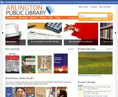 library websites - Google Search Library Websites Pinterest - library page