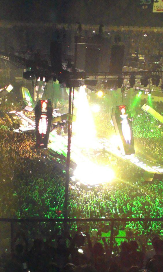 Concierto Metallica, Palacio de los Deportes. México, D.F.