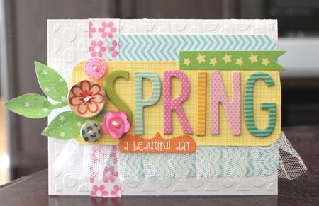 """Spring"" card, by Alice Carman, Bella Blvd"