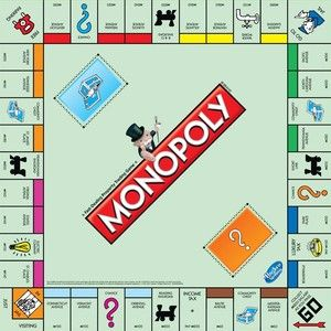 Monopoly Board Game                                                                                                                                                      Más: