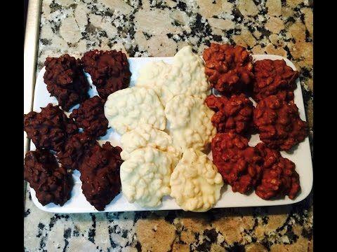 Receta: rocas de chocolate, con chocolate, cereales y SIN HORNO!   LikeMag   We like to entertain you