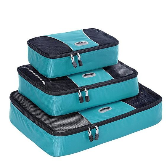 eBags Packing Cubes - 3pc Set. Would need two different colors. One for me and one for Rob.