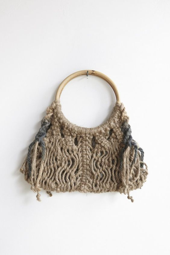 KKIBO Macrame Large Hand Bag | Oroboro Store | Brooklyn, New York