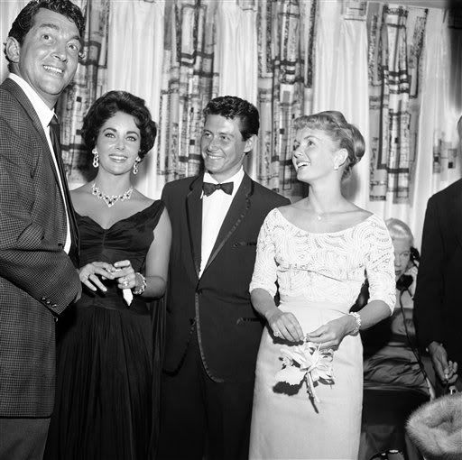 Young Debbie Reynolds And Elizabeth Taylor Dean Martin, Elizabeth...