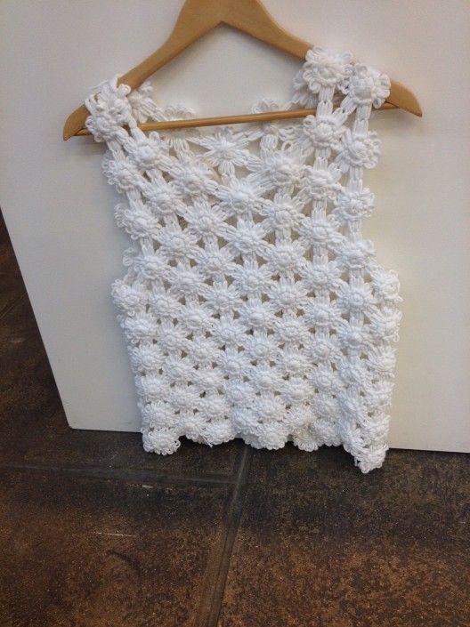 Le crochet fleuri de Vanessa Bruno