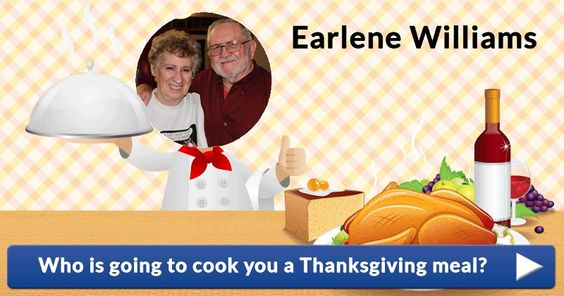 Who is going to cook you a Thanksgiving meal?